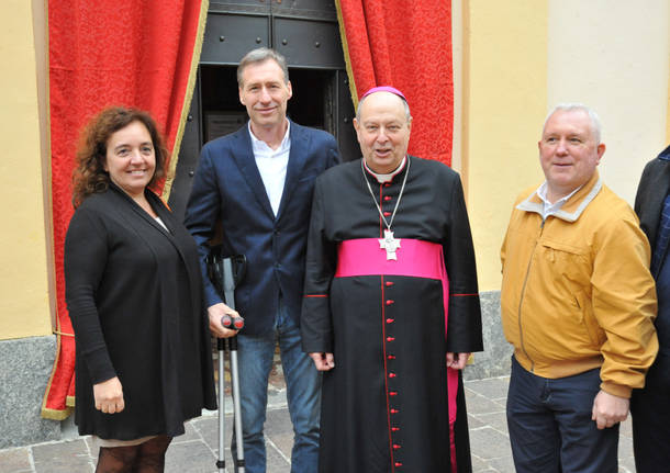 Il Vescovo mons. Cantoni tra noi