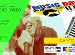 MUSIC DAY DI CANTO  - INGRESSO GRATUITO!