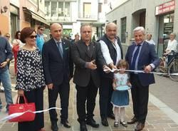 Via Taverna: inaugurata la nuova pavimentazione