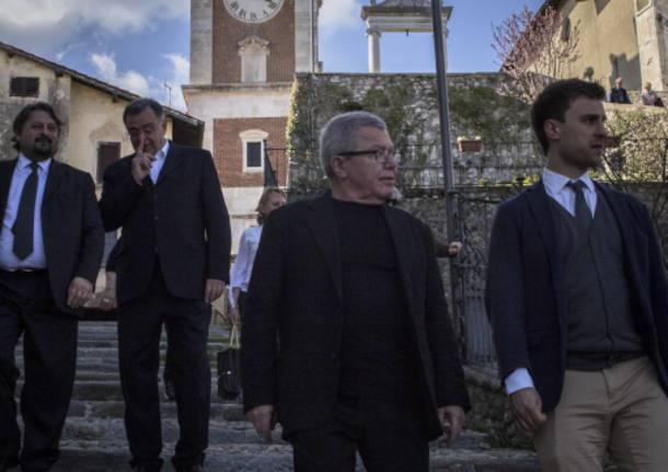 Daniel Libenskind in visita a Varese