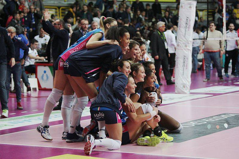 Uyba Volley - Igor Gorgonzola Novara 3-0