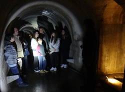 La visita al rifugio antiaerei di Varese
