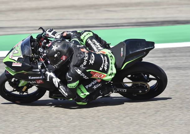 il varesino Filippo Rovelli vola in prova nel mondiale Supersport 300 ad Aragon