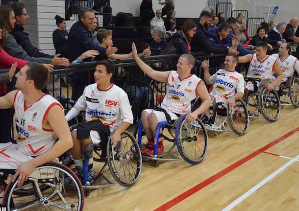 cimberio handicap sport basket in carrozzina