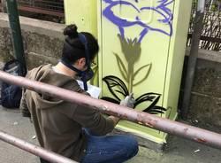 Diventano arte le cabine semaforiche di Varese