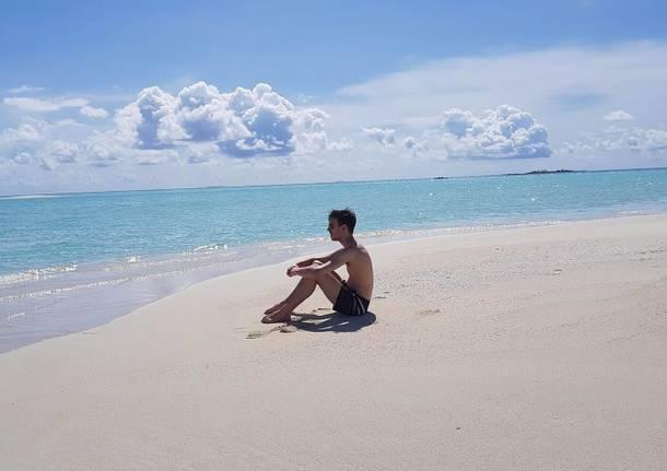 Due varesini alle Maldive per rendere golosi i paradisi del turismo