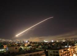 bombardamento siria