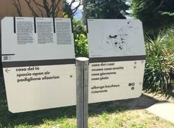 Giardini in arte al Monte Verità ascona