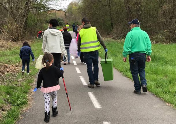 Giornata del verde pulito a Galliate Lombardo