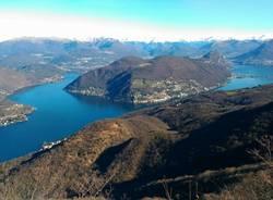 Il lago Ceresio dal Monte Orsa - foto di Ilario Rizzato