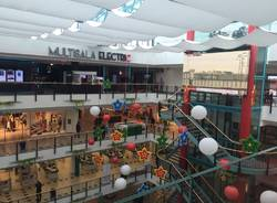 Il quinto piano del Centro commerciale Campo dei fiori