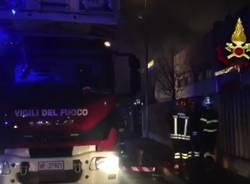 Incendio con esito mortale a san Donato milanese