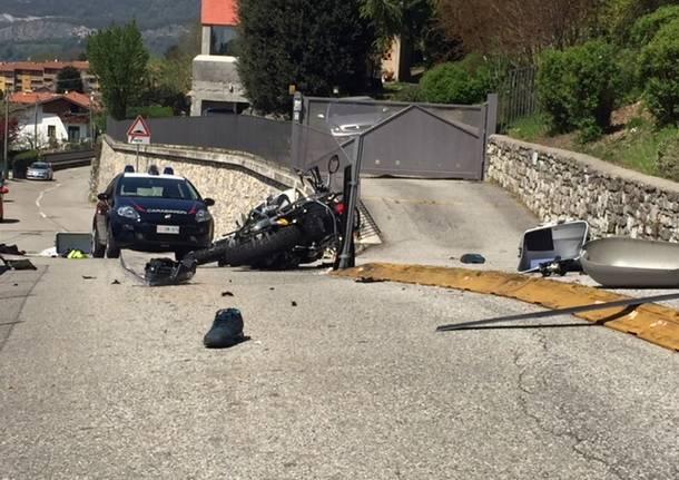 Incidente mortale a Cocquio Trevisago