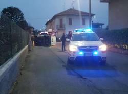 Incidente stradale a Venegono Inferiore