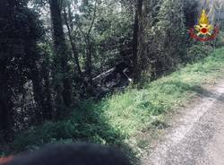 Incidente stradale sp1 gavirate