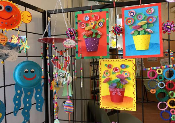 Induno Olona: la mostra dei lavori creativi dei bambini