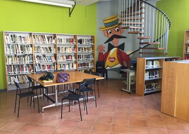 La biblioteca di Comerio: nel cuore del paese dei libri