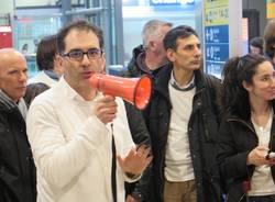 La protesta dei comitati pendolari