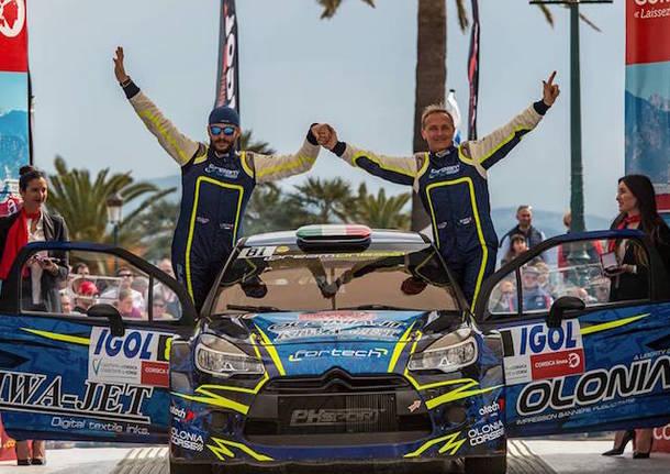 luca beltrame mauro miele rally tour de corse 2018