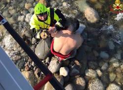 Salvataggio sul Ticino