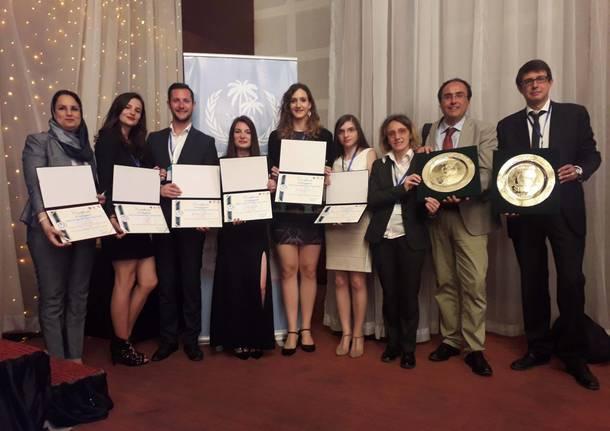 studenti premiati al SIMUN