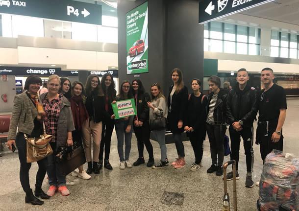 studenti russi in visita