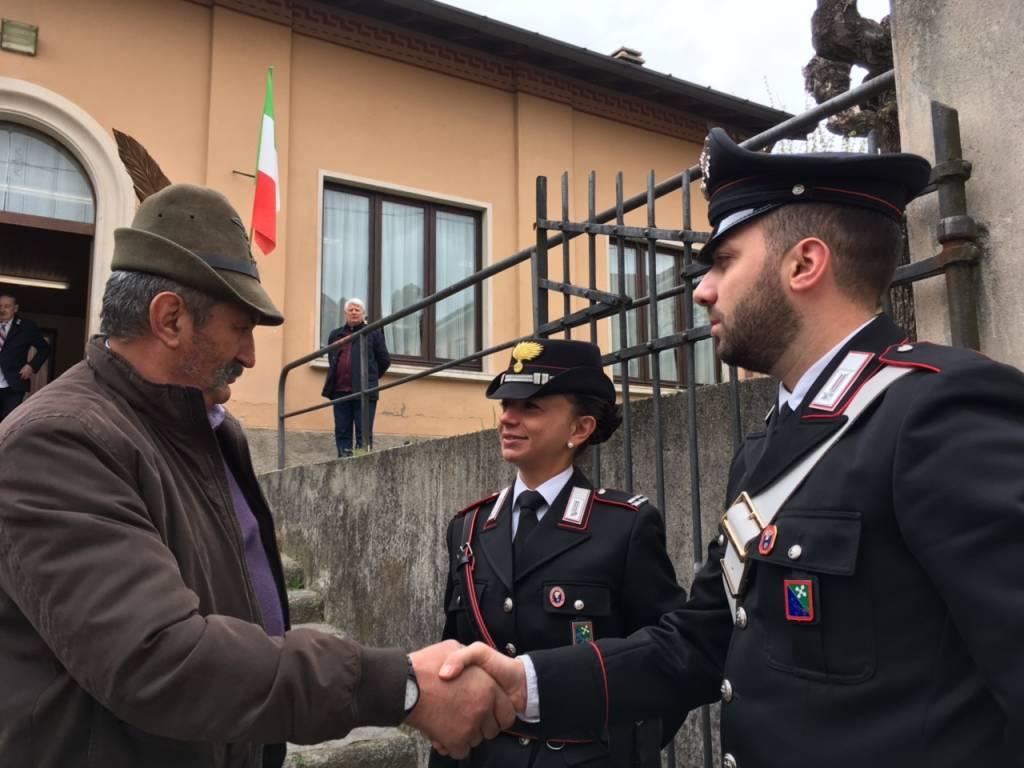 Una nuova sede per i carabinieri in congedo