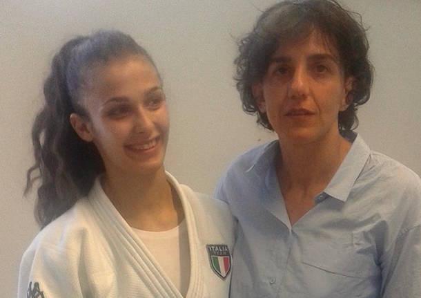 alessia tedeschi judo club castellanza