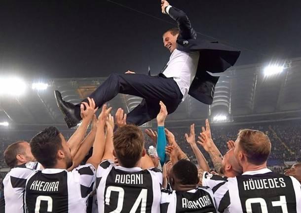 Juventus In Festa Settimo Scudetto Di Fila