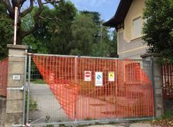 cancello chiuso