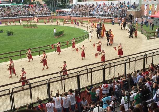 La sfilata del Palio di Legnano