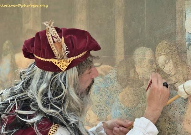 Al Panperduto con Leonardo Da Vinci
