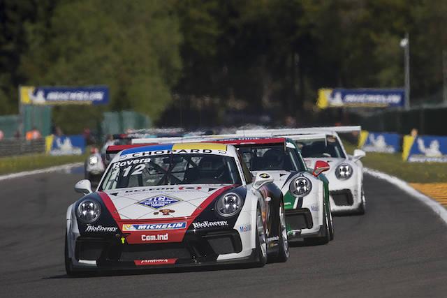 Alessio Rovera, esordio vincente nella Carrera Cup France