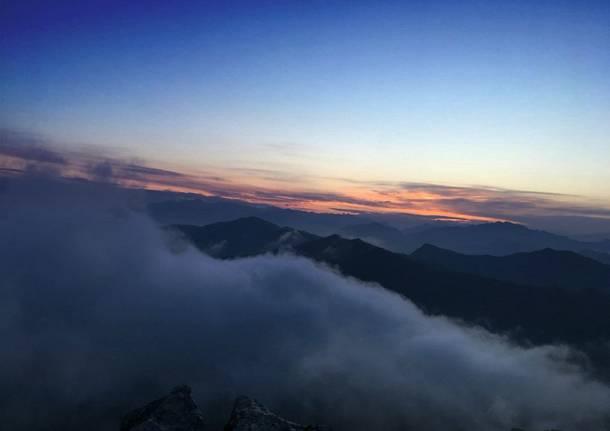 L\'alba dal Campo dei Fiori