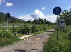 Valcuvia, la ciclabile avanza