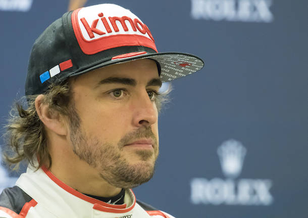 Alonso e gli specialisti dell'Endurance a Spa Francorchamps