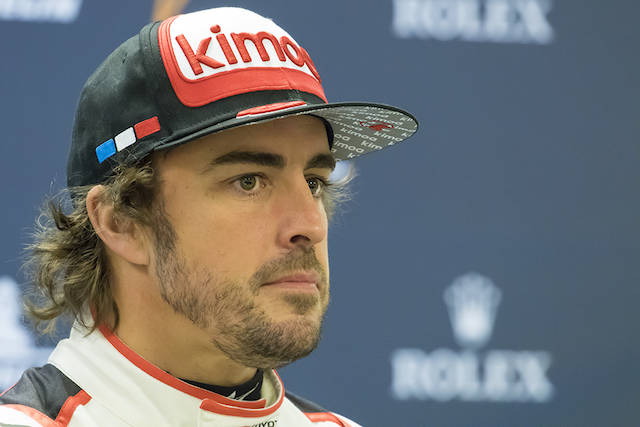 Alonso e gli specialisti dell\'Endurance a Spa Francorchamps