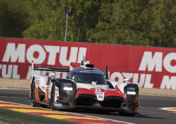 Alonso e gli specialisti dell\'Endurance a Spa Francorchamps