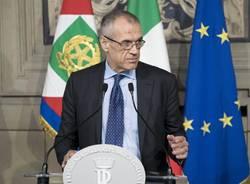 Carlo Cottarelli da Sergio Mattarella
