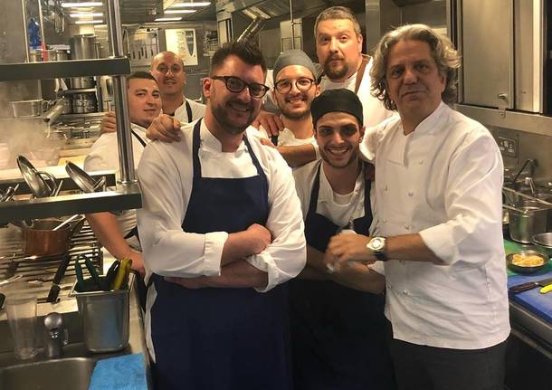Davide Aviano alla locanda Locatelli di Londra