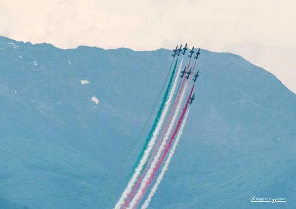 Frecce Tricolori a Verbania