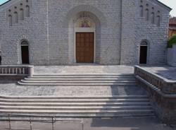 IL nuovo sagrato della chiesa di Giubiano
