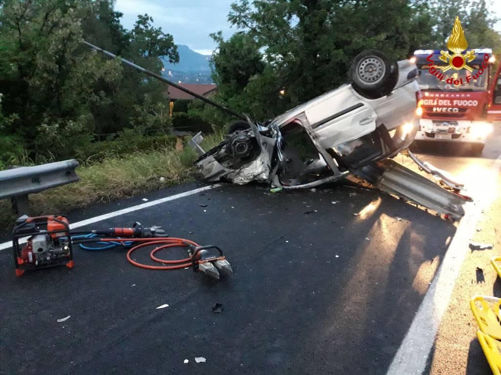 incidente stradale a-8 13 maggio 2018