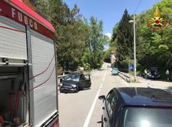 Incidente stradale a brzzo di Bedero