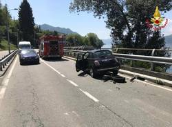 Incidente stradale a brzzo di Bedero