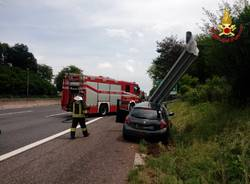 Incidente stradale sull'autostrada A26