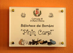 Induno Olona - L'inaugurazione della Biblioteca dei bambini