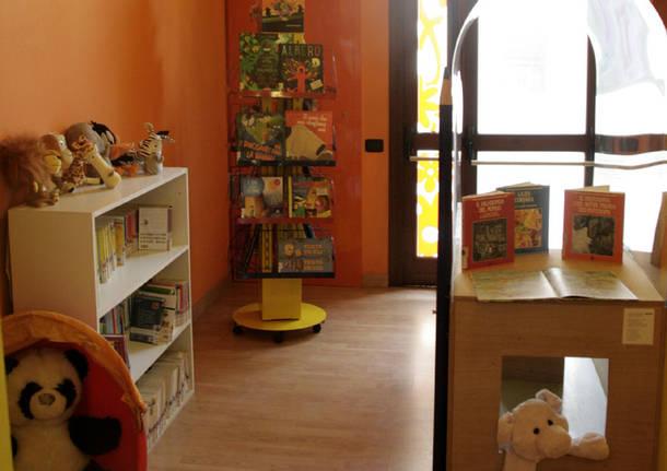 Induno Olona: l'inaugurazione della nuova Biblioteca dei bambini