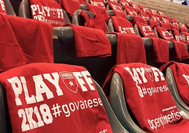 magliette rosse basket playoff 2018
