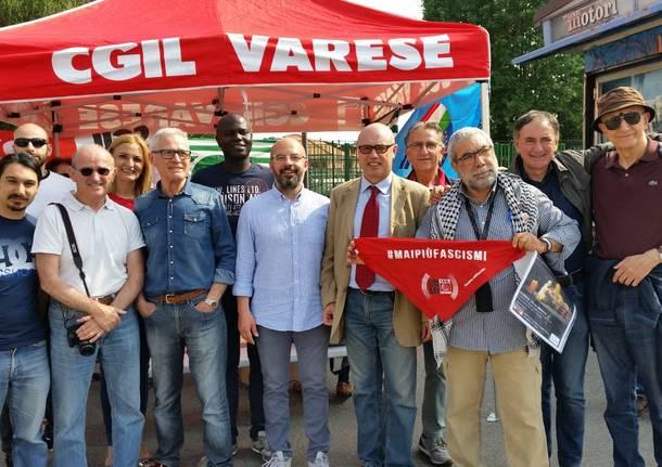 """""""Mai più fascismi"""" il sindacato risponde a Forza Nuova"""